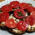 Armenian Eggplant, Tomato and Feta Cheese Salad