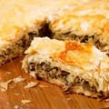 Mince Pastry with Mushrooms