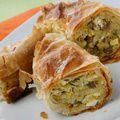 Onion Desserts - Phyllo Pastry with Potatoes and Mince