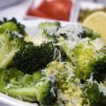 Frozen Broccoli with Parmesan and Garlic