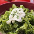 Salad with Broccoli and Mayonnaise