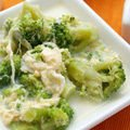 Broccoli with Garlic and Mozzarella