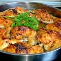 Chicken Thighs with Beer
