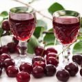 Sour Cherry and Cherry Liqueur
