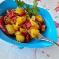 Tuscan-Style Peppers with Potatoes