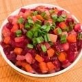 Potato, Beetroot and Carrot Salad