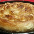 Pulled Phyllo Pastry, Kneaded in a Bread Maker