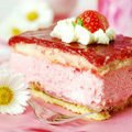 Lazy Strawberry Cake