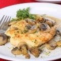 Chicken Steaks with Mushrooms