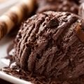 Chocolate Ice Cream with Coconut Milk