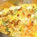 Vegetable and Turmeric Recipes - Indian Pilaf