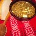 Grandma`s Nettle Porridge with Eggs and Feta