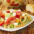 Healthy Salad with Pasta