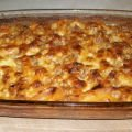 Macaroni with Minced Meat in the Oven