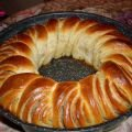 Butter Wreath with Poppy Seeds