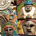 Evil Spirits - African masks and skins bring bad luck to the home