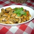 Mussels Sauteed in Butter and White Wine