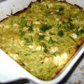 Grated Zucchini with Feta Cheese in the Oven