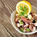 Octopus with Garlic