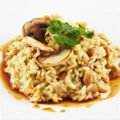 Rice with Mushrooms and Soya Sauce