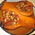 Baked Pumpkin with Fruits and Honey