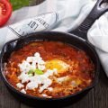 Village-Style Dish with Peppers and Feta Cheese