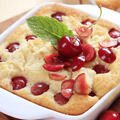 Rice Pie with Sour Cherries