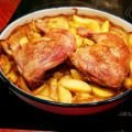 Chicken with Potatoes in the Oven