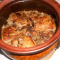 Turkey with Sauerkraut in a Clay Pot
