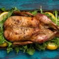 Roasted Duck with Lemon