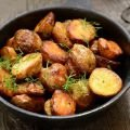 Vegetable and Turmeric Recipes - Potatoes Baked with Mustard