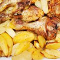 Chicken with Potatoes and Lemon Juice