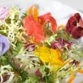 Salad with Herbs and Pumpkin Seeds