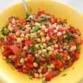 Salad with Chickpeas and Peppers