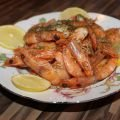 Shrimp with Beer