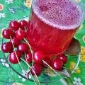 Boiled Morello Cherry Juice
