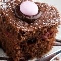 Plain Cake with Cocoa and Yoghurt