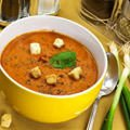 Red Lentil and Potato Cream Soup
