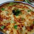 Casserole with Chicken, Vegetables and Cream