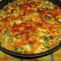 Casserole with Broccoli and Cheeses