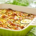 French-Style Open Face Pie with Zucchini