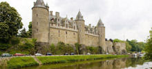 Castles in France -  Josselin castle
