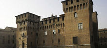 Castles in Italy -  San Giorgio of Mantua castle