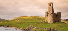 Castles in Scotland -  Ardvreck Castle