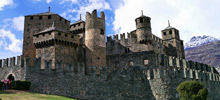 -  Fenis Castle in Aosta Valley