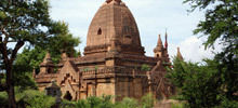 Buddhist Temples -  Bagan in Myanmar