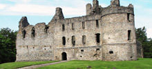 Castles in Scotland -  Balvenie Castle
