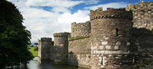 Menai Strait -  Beaumaris Castle