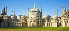 Castles in England -  Royal Pavilion in Brighton