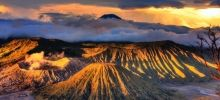 Most beautiful parks of the world -  Bromo Tengger Semeru National Park